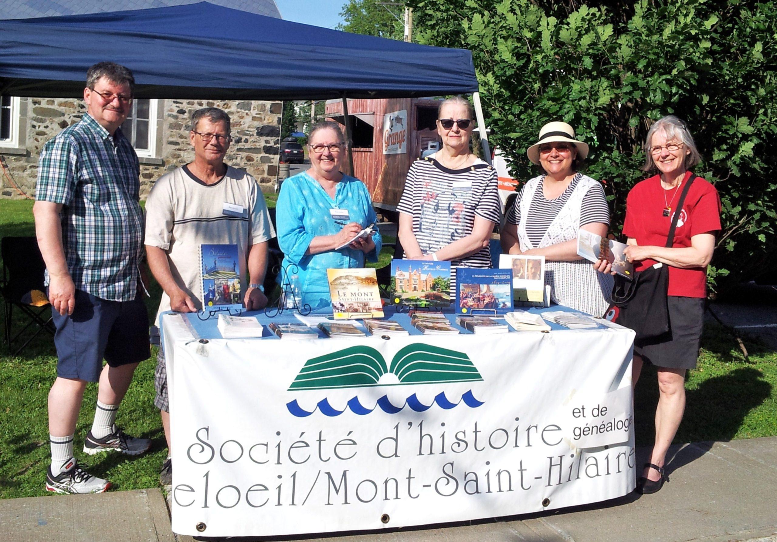 2-2-3 Kiosque à Mont-Saint-Hilaire - Coll. Diane Desmaraisl