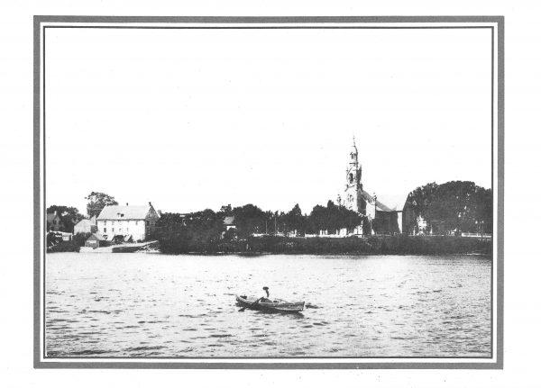 Église et moulin de Beloeil 1910