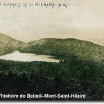 Lac Hertel mont Saint-Hilaire